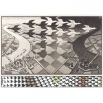Puzzle  PuzzelMan-829 MC Escher : Day and Night