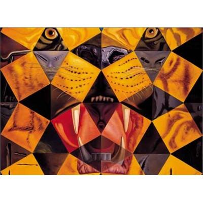 Puzzle Ricordi-50662 Salvador Dalí - Cinquenta Tigre Real