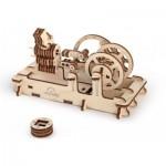Ugears-12012 Puzzle 3D en Bois - Pneumatic Engine