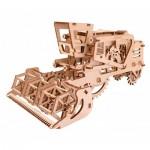 Ugears-12013 Puzzle 3D en Bois - Moissonneuse-Batteuse