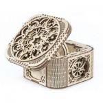 Ugears-12059 Puzzle 3D en Bois - Treasure Box