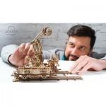 Ugears-12060 Puzzle 3D en Bois - Rail Mounted Manipulator