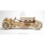 Ugears-12068 Puzzle 3D en Bois - U-9 Grand Prix Car