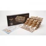 Ugears-12090 Puzzle 3D en Bois - Card Holder