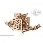 Ugears-12093 Puzzle 3D en Bois - Dice Keeper