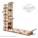 Ugears-12094 Puzzle 3D en Bois - Modular Dice Tower