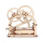 Puzzle 3D en Bois - Mechanical Box