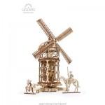 Puzzle 3D en Bois - Tower Windmill