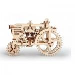 Puzzle 3D en Bois - Tracteur