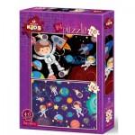 2 Puzzles - Espace