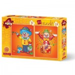 2 Puzzles - Clowns
