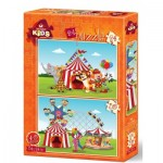 2 Puzzles - The Circus and The Fun Fair