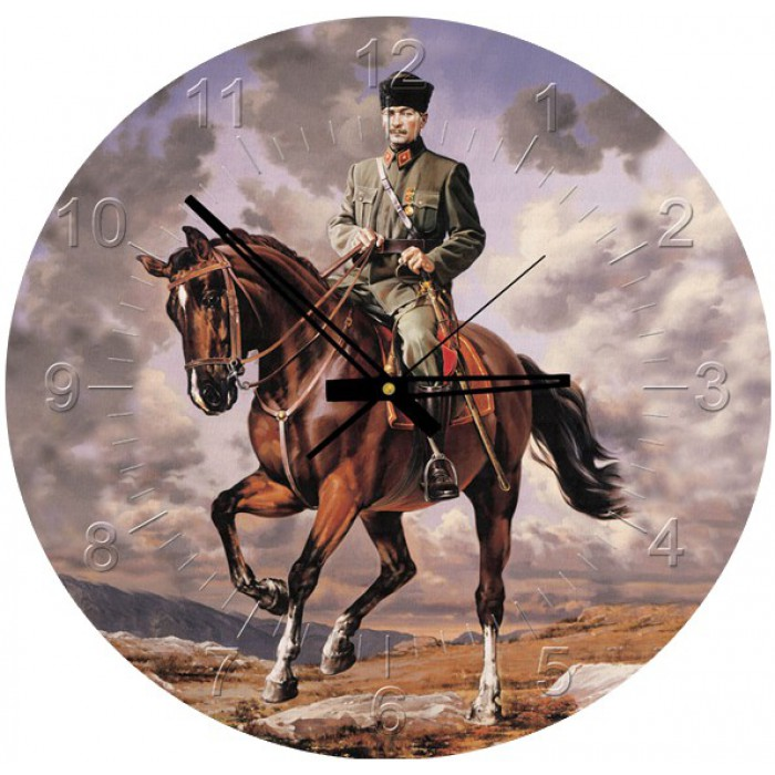 Puzzle Horloge - Ghazi Mustafa Kemal Atatürk (Pile non fournie)