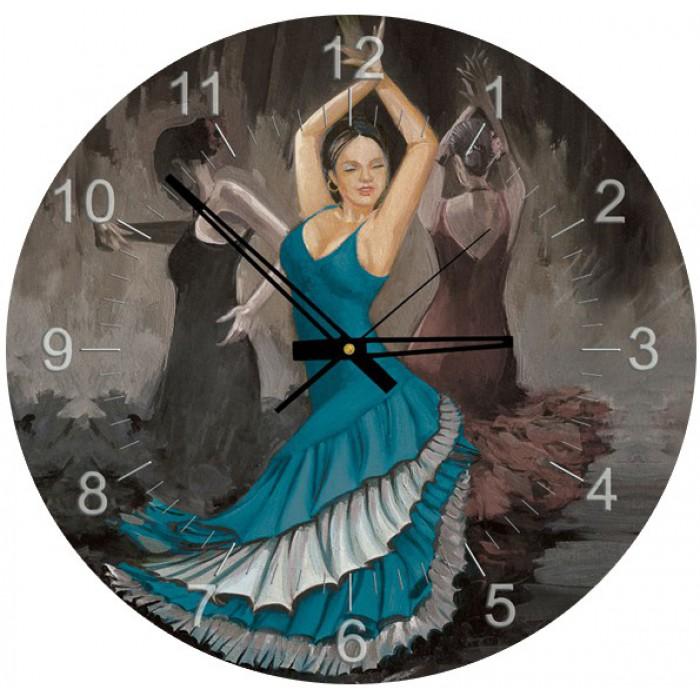 Puzzle Horloge - Flamenco (Pile non fournie)