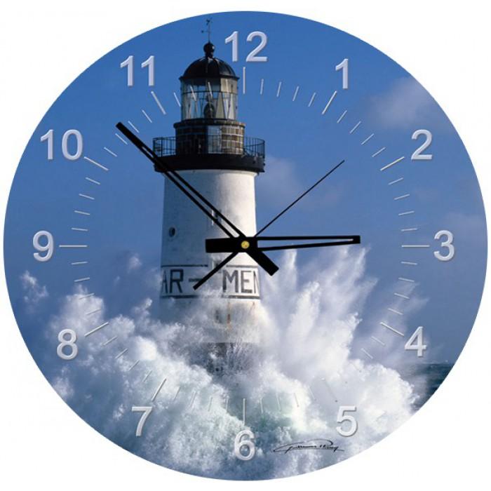 Puzzle Horloge - Plisson, Phare d'Ar Men (Pile non fournie)