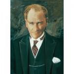 Puzzle  Art-Puzzle-4157 Portrait de Ghazi Mustafa Kemal Atatürk