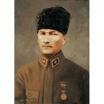 Puzzle  Art-Puzzle-4158 Commandant en Chef Ghazi Mustafa Kemal Atatürk