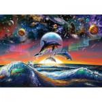 Puzzle  Art-Puzzle-4162 Dauphins Universels