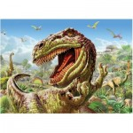 Puzzle  Art-Puzzle-4170 Dinosaures