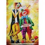 Puzzle  Art-Puzzle-4182 Drôles de Clowns