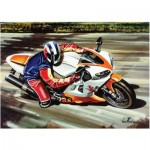 Puzzle  Art-Puzzle-4201 Moto de Course
