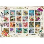 Puzzle  Art-Puzzle-4207 Collage de Timbres