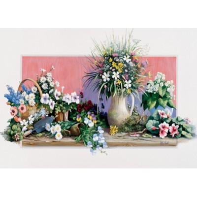 Puzzle Art-Puzzle-4208 Fleurs de Printemps