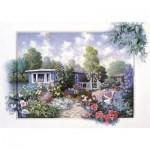 Puzzle  Art-Puzzle-4211 Jardin Floral