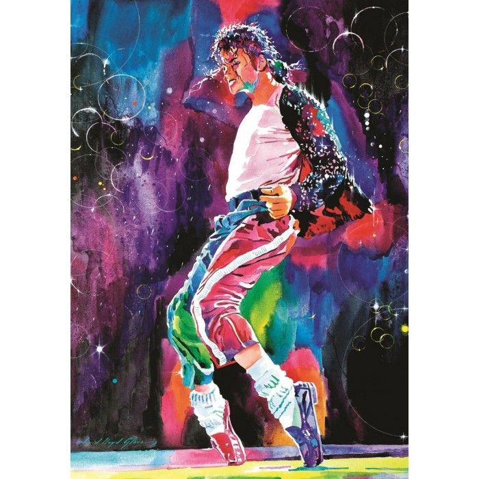 Michael's Jackson Moonwalker