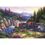 Puzzle  Art-Puzzle-4233 Voyage en Train