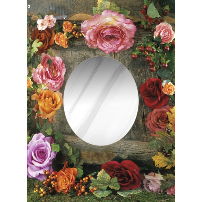Puzzle Miroir - Rose Beauty