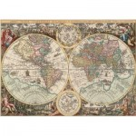 Puzzle  Art-Puzzle-4276 Carte du Monde Antique
