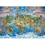 Puzzle  Art-Puzzle-4278 Couleurs du Monde