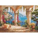 Puzzle  Art-Puzzle-4280 Terrasse de Rêve