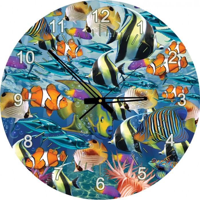 Puzzle Horloge - Poissons Tropicaux (Pile non fournie)