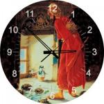 Art-Puzzle-4295 Puzzle Horloge - Osman Hamdi Bey : Le Dresseur de Tortues (Pile non fournie)