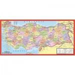 Puzzle  Art-Puzzle-4346 Carte politique de la Turquie