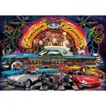 Art-Puzzle-4454 Puzzle Néon - Cruisin Classics