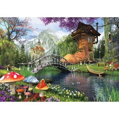 Puzzle Art-Puzzle-4467 The Old Shoe House