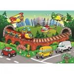 Puzzle  Art-Puzzle-4504 Pièces XXL - Trafic