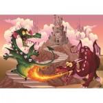 Puzzle  Art-Puzzle-4505 Pièces XXL - Les Dragons