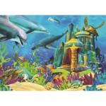 Puzzle  Art-Puzzle-4525 Le Château Sous-marin