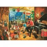 Puzzle  Art-Puzzle-4536 Magasin de Musique