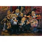 Puzzle  Art-Puzzle-4607 Bill Bell : Louis Armstrong et son Orchestre