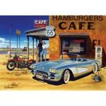 Puzzle  Art-Puzzle-4642 Arizona Cafe