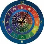 Art-Puzzle-5001 Puzzle Horloge - Zodiac (Piles non fournies)