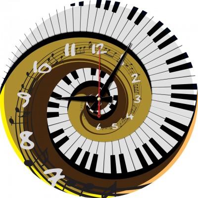 Art-Puzzle-5006 Puzzle Horloge - Rythme du Temps (Pile non fournie)