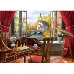 Puzzle  Art-Puzzle-5074 Work Landscape