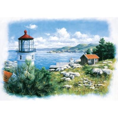 Puzzle Art-Puzzle-5076 Lantern on the Shore