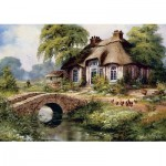 Puzzle  Art-Puzzle-5080 Green Village